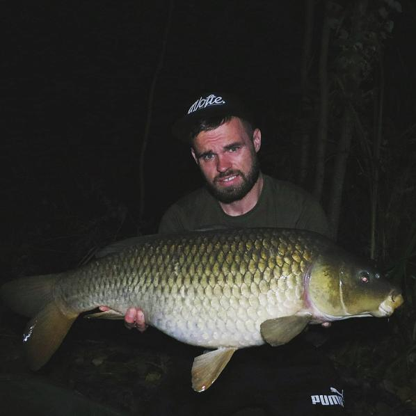 Henry with a 24lb Common Carp